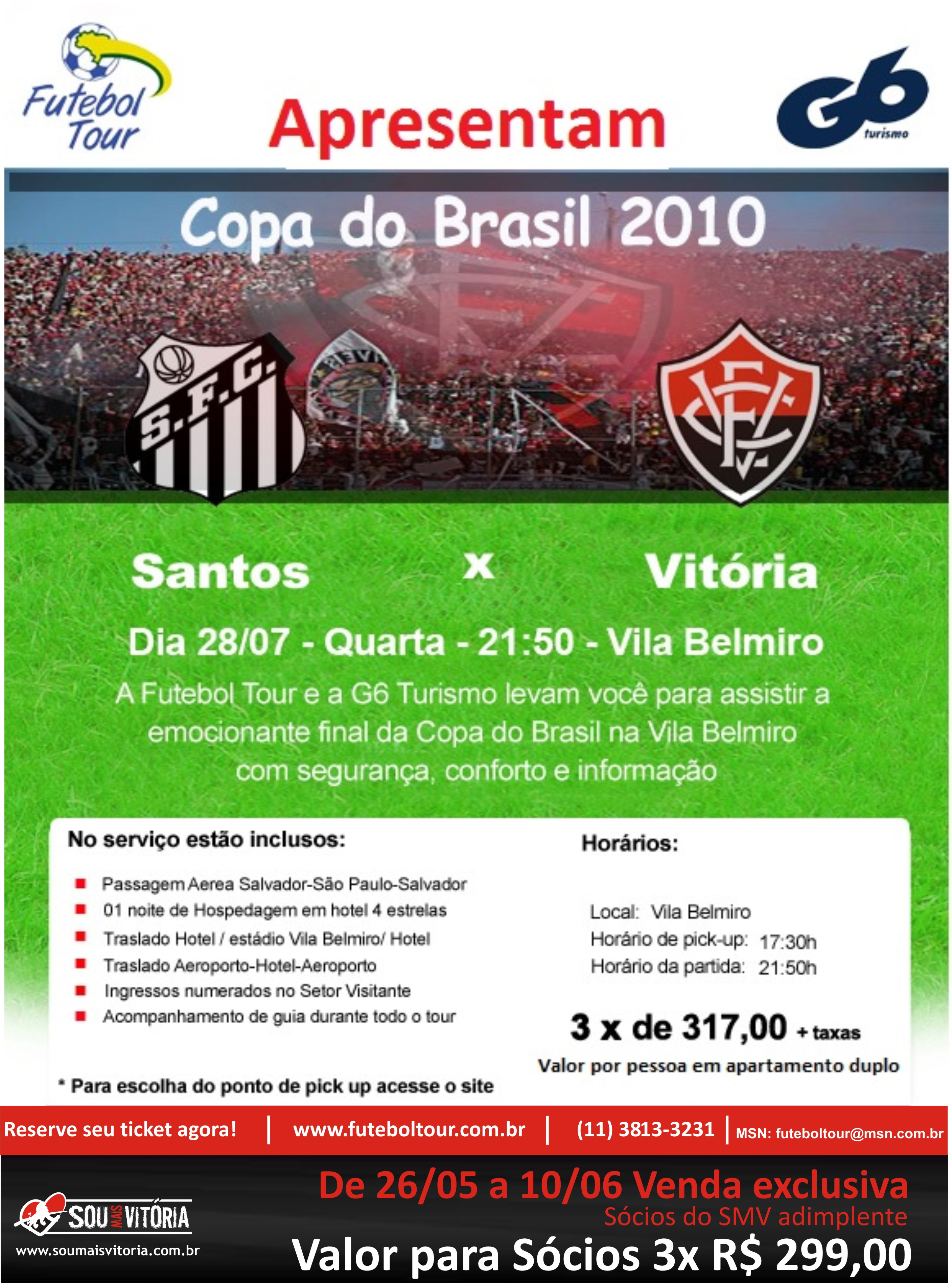 67313fedc8 Pacotes para final em Santos – jogo 1
